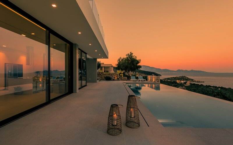 The Sall Villa -2 Bedrooms with Private pool & Sea Views, holiday rental in Skinaria