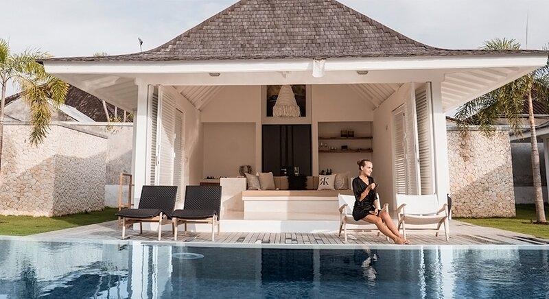 55% OFF Villa KaRein | Minimalist Pool Villa in Seseh /w Rice Paddy Field views, casa vacanza a Buwit