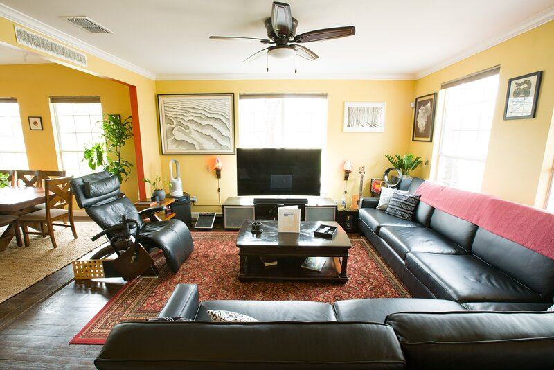 Spacious, open common areas make it great for larger groups