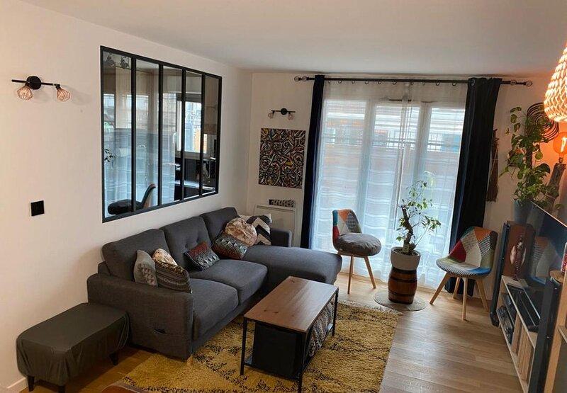 Bel appartement T3 a proximité de l'aéroport d'orly, location de vacances à Draveil