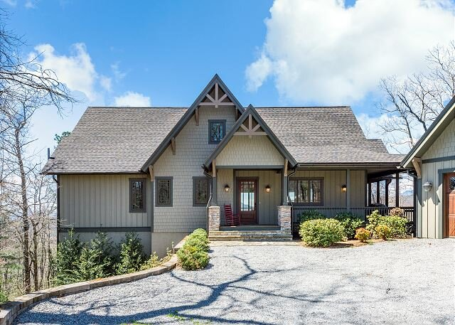 Maple Cottage | Sutton Knob | Screened Dining Porch | Long-Range Pisgah Views, casa vacanza a Pisgah Forest