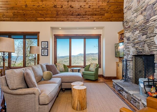 Oak Cottage | Sutton Knob | Alfresco Dining & Spectacular Pisgah Views, casa vacanza a Pisgah Forest
