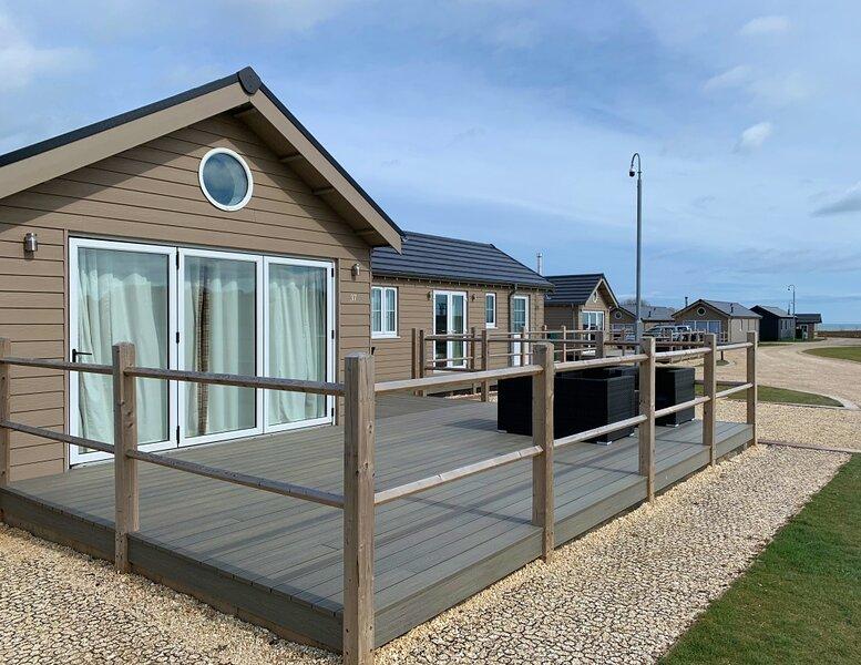 NEW - Seahorse Lodge, The Bay Filey - sleeps 6, dog-friendly, meadow views – semesterbostad i Hunmanby