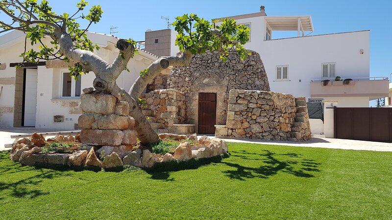 La Pajara casa relax a 50mt dal mare cristallino del salento, holiday rental in Santa Maria al Bagno