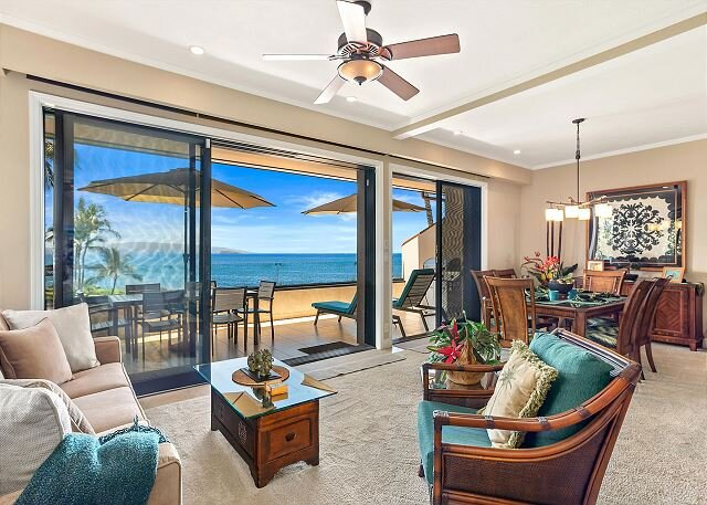 Amazing corner unit, Makena Surf G-201, Luxurious Renovation, Panoramic Views, alquiler de vacaciones en Maui