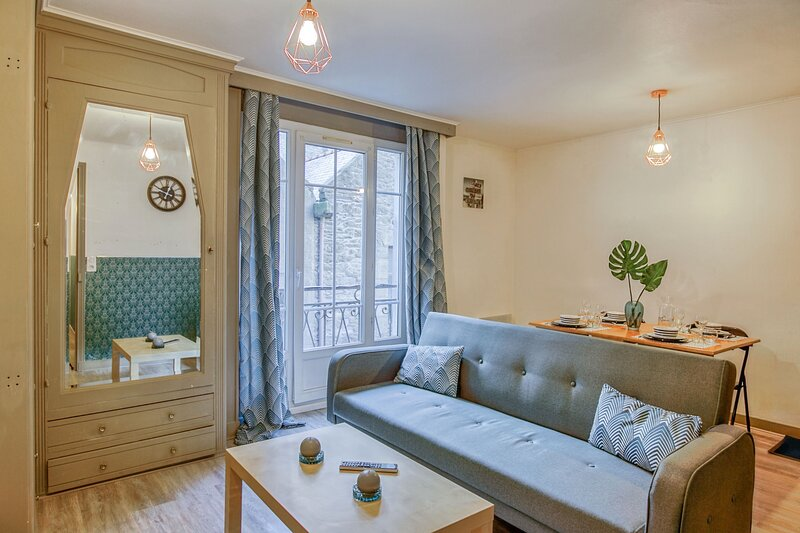 Le Maclow - Joli T2 Intra Muros, holiday rental in Ille-et-Vilaine
