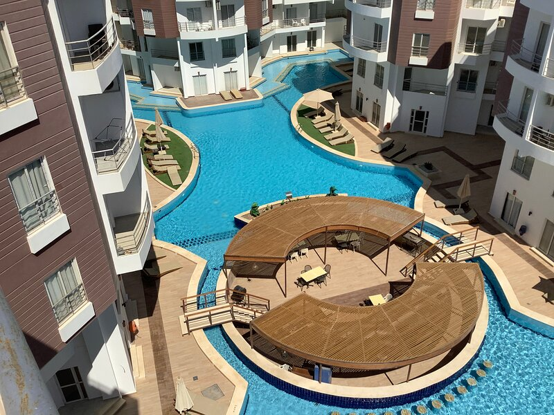 Roof Top Villa with Huge Terrace, holiday rental in El Gouna