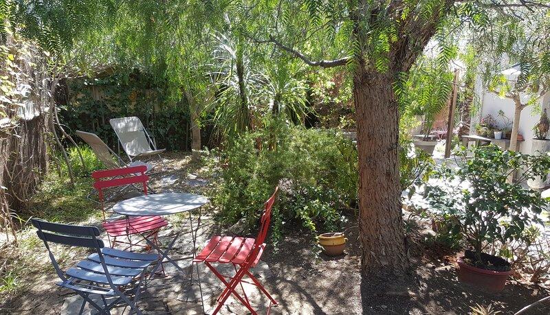 jardin (pour votre usage exclusif) - coin détente