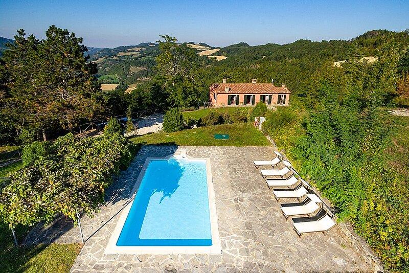 Villa Tancredi, holiday rental in Palazzuolo Sul Senio