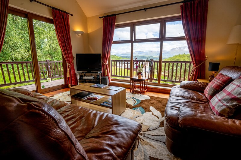 Inverskilavulin Estate - Beinn Loy Lodge, alquiler vacacional en Muirshearlich