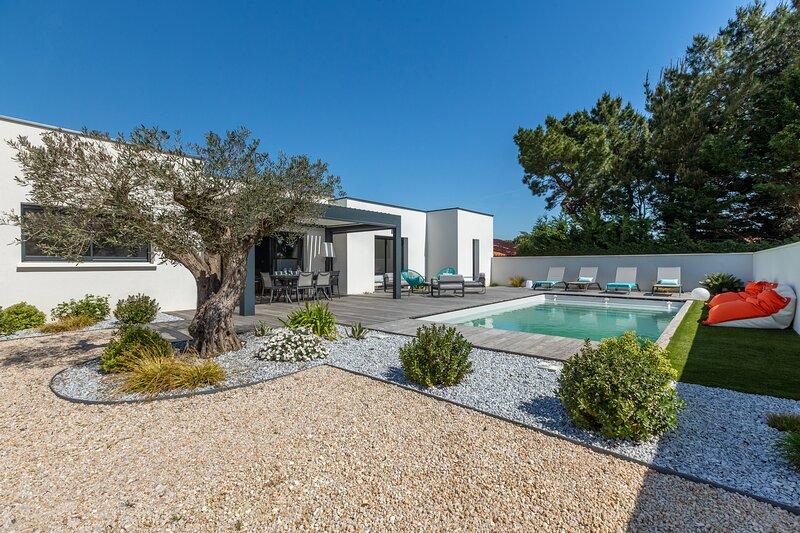 Villa Paloma - Piscine privée et chauffée, location de vacances à Saint-Palais-sur-Mer