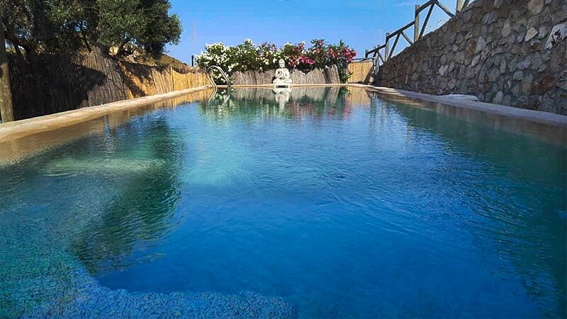 Private Villa with a Natural Stone Pool, holiday rental in Arboleas