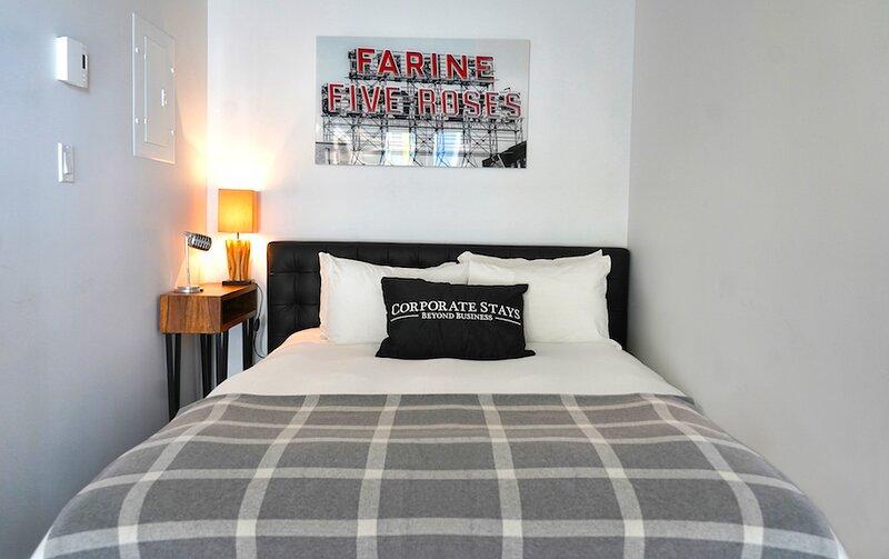 Corporate Stays | Hexagone 2 | Perfect Studio, aluguéis de temporada em Brossard