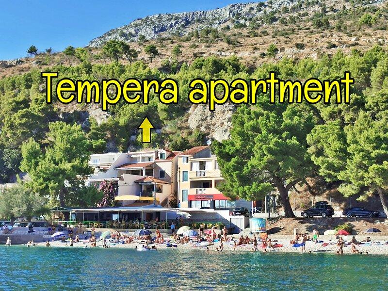 Tempera 3- terrace,sun&beach-BEST PRICE, vacation rental in Dugi Rat