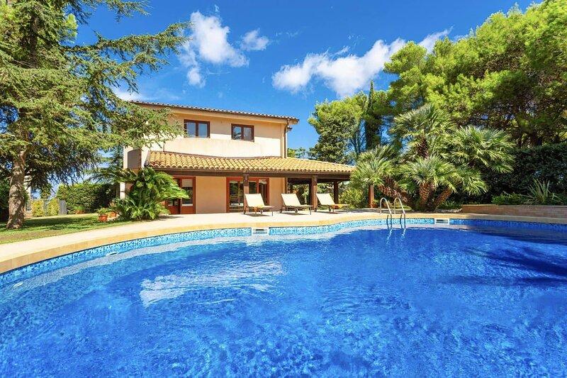 Villa Acquamarina, holiday rental in Valderice