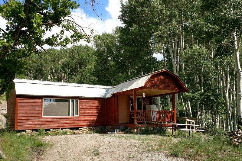 Camp Jackson Lake Cabin, Lake, Swimming, Hiking. Stunning Views!, holiday rental in Monticello
