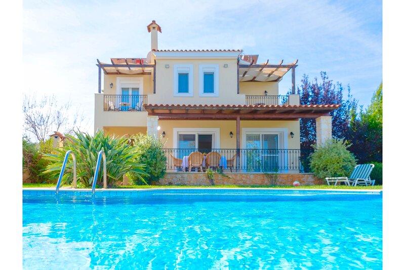 Villa Dafni Crete, aluguéis de temporada em Kato Valsamonero