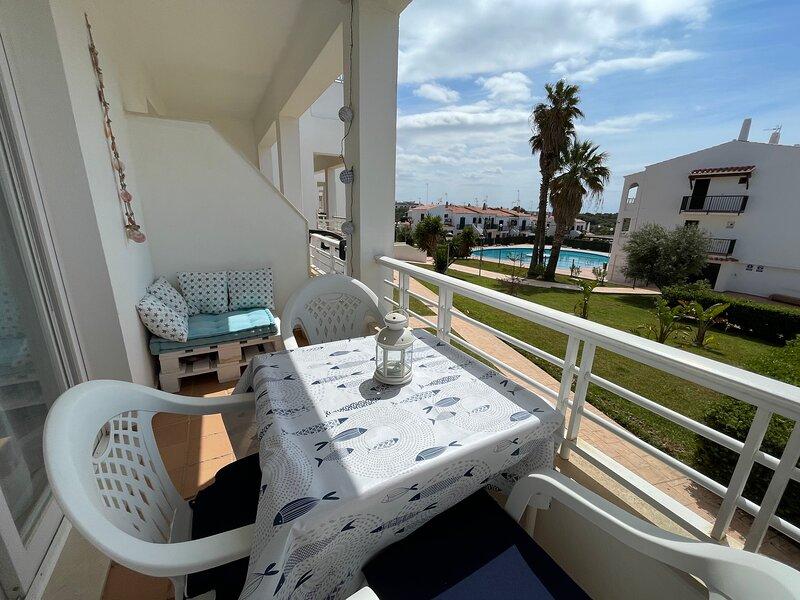 Apartamento ideal con piscina - Sa Vinjolita -, holiday rental in Cala Morell