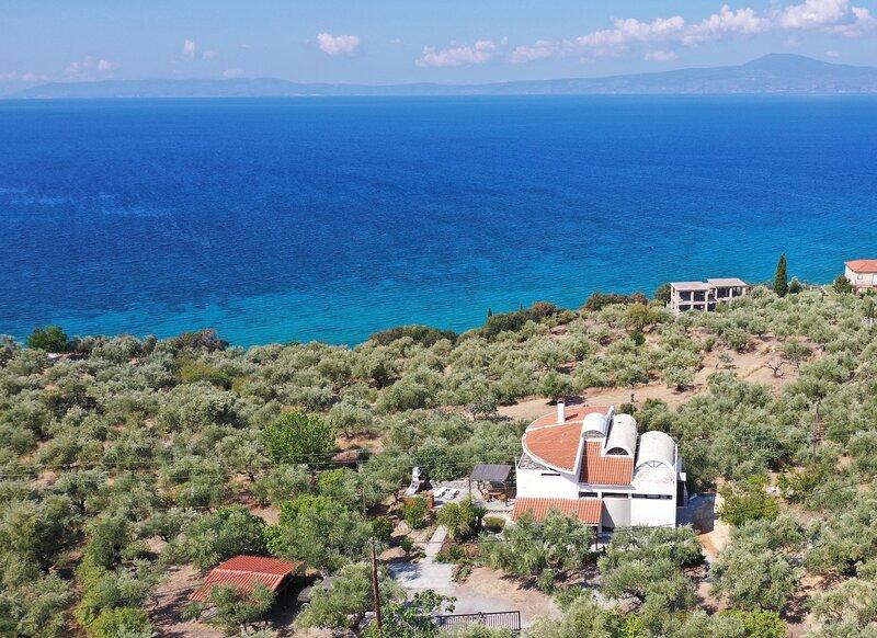 Sea View Villa Orea Elena, holiday rental in Ano Doli