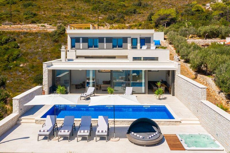 Villa Carisma Vis island Croatia, aluguéis de temporada em Vis