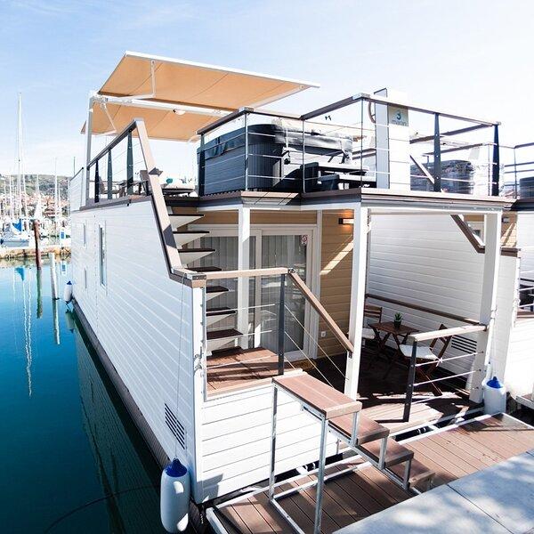 Adria Portorož luxury houseboat, holiday rental in Portoroz