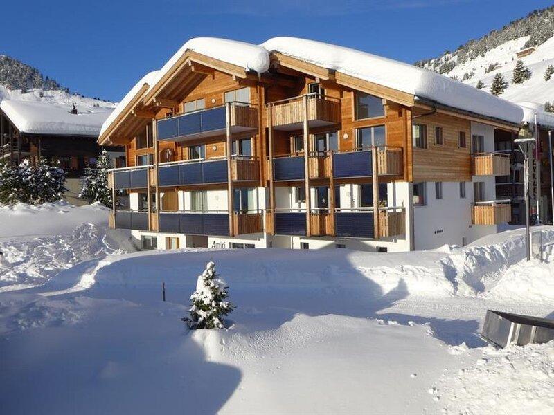 Amici 1. Stock Allegra, holiday rental in Blatten bei Naters