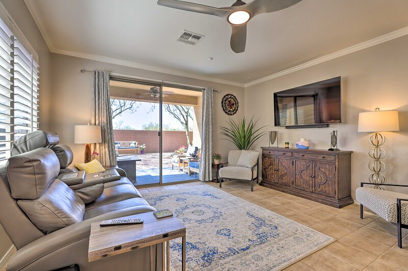 NEW! Desert Escape with Private Patio + Fire Pit!, holiday rental in Anthem