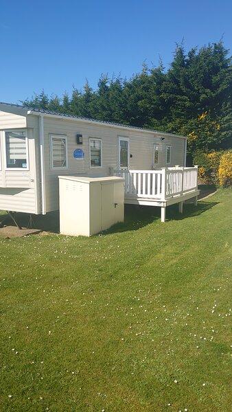 Caravan for hire on manor park, Hunstanton, vakantiewoning in Hunstanton
