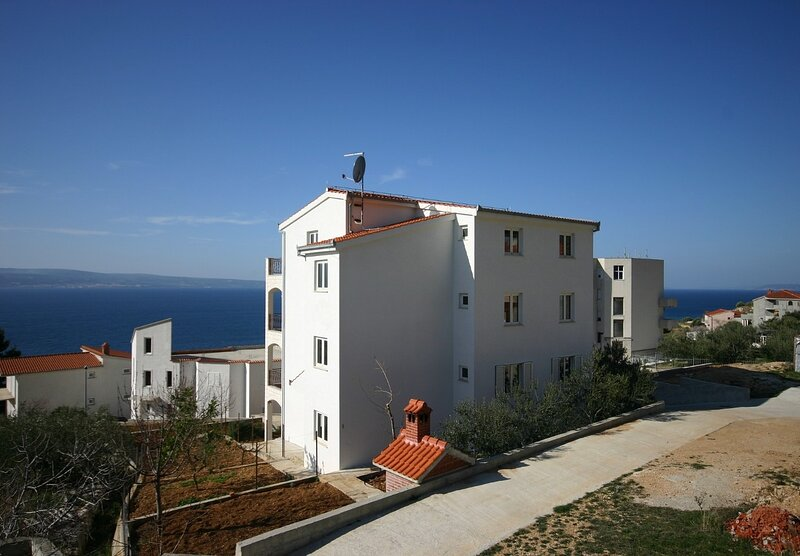 Sea View - 250 m from sea: A2 Vila Jadrana(2+2) - Suhi Potok, alquiler vacacional en Krilo Jesenice