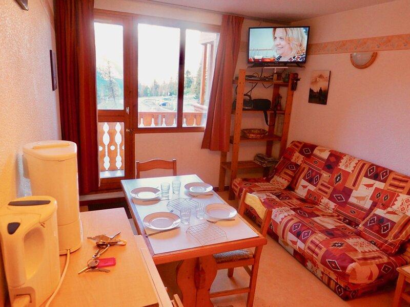 studio 4 pers vue superbe sur Vanoise, holiday rental in Valfrejus