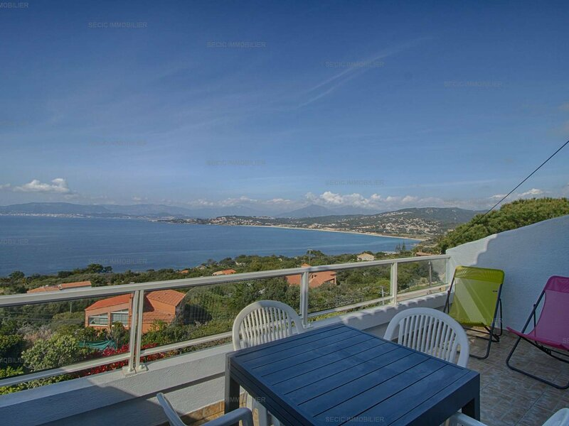PIETROSELLA - Superbe appartement vue mer F3 Stagnola, location de vacances à Pietrosella