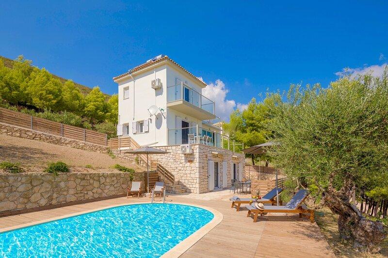 Villa Keri Sea Zakynthos, holiday rental in Laganas