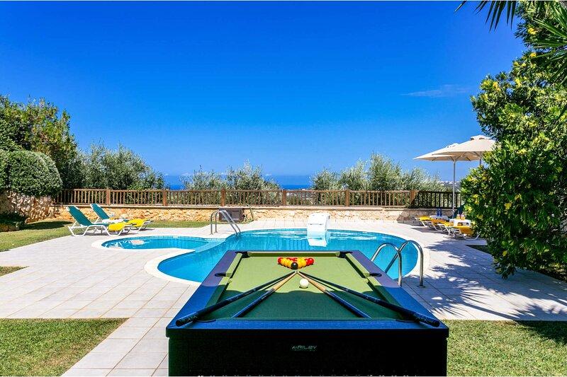 Villa Elessa Crete, holiday rental in Kato Valsamonero