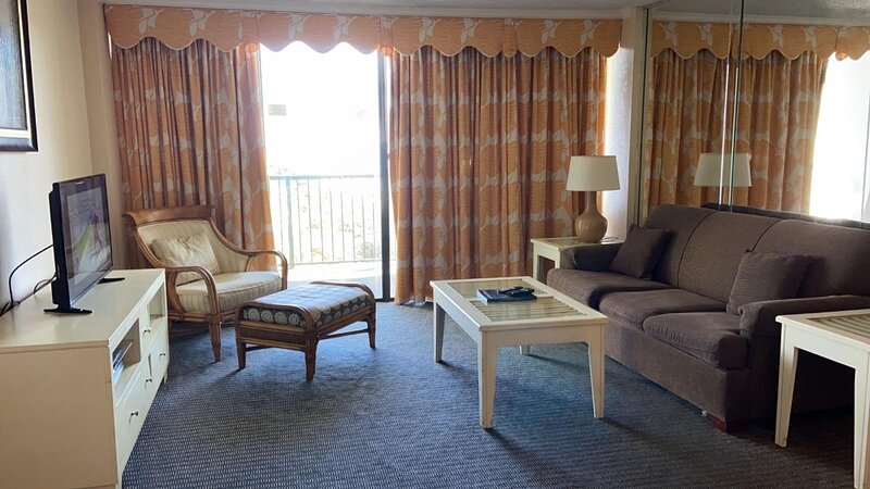 2-Bedroom Carolina Dunes Condo with Private Balcony and Oceanfront, holiday rental in Arcadian Shores
