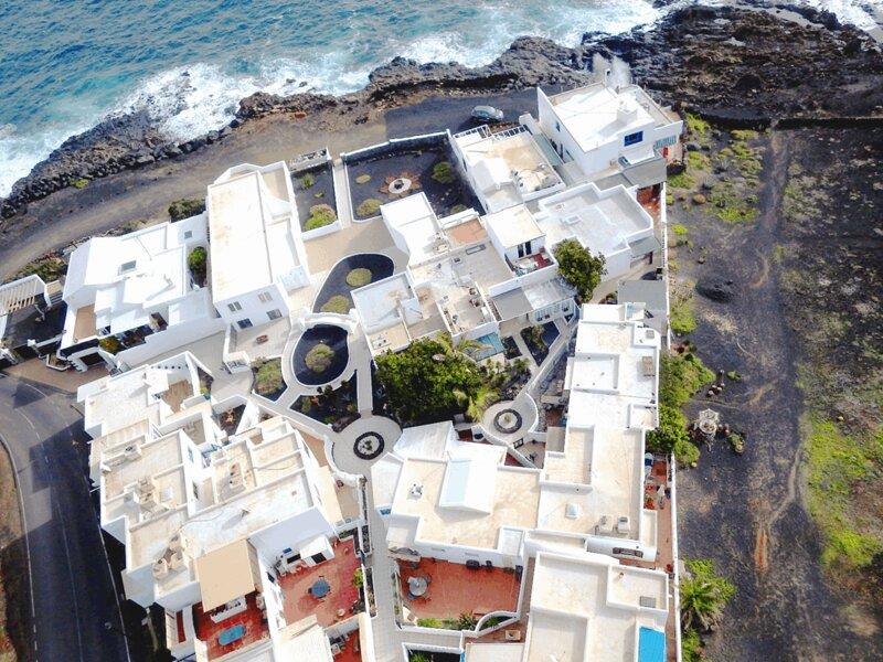 Vista aérea de la Urbanización Las Salinas de Guatiza en Los Cocoteros