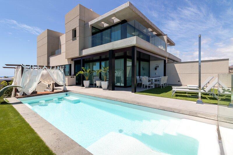 Flatguest Villa Kenia Meloneras + Pool + Gym + Relax, aluguéis de temporada em Costa Meloneras