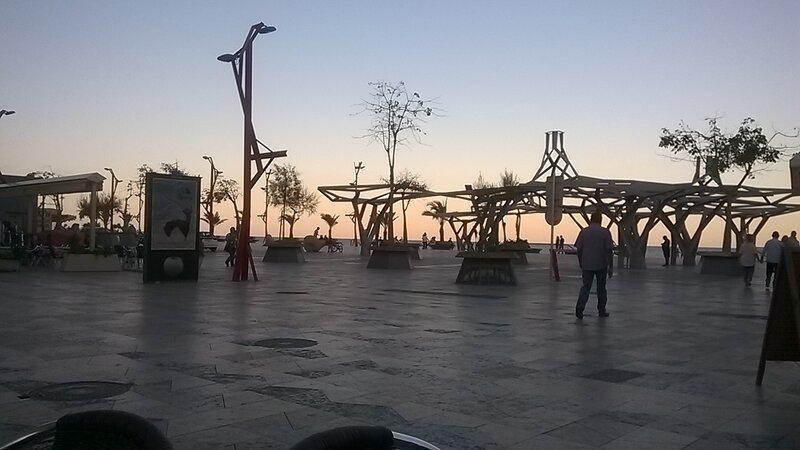 Vista paseo de playa en Vinaroz