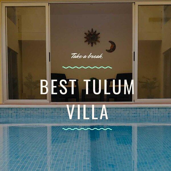 'Luxury House | Pool | 9 guests at villa Nah-K'aan House Tulum', alquiler de vacaciones en Macario Gómez