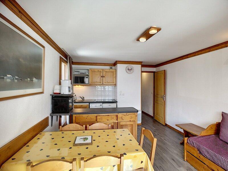 VALMONT 201 - Spacieux 3 pièces 2 chambres 2 salle de bains, expo ouest 45m²., casa vacanza a Les Bruyeres