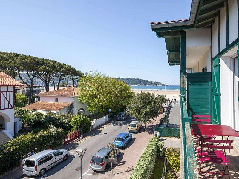 La plage à vos pieds, holiday rental in Hendaye