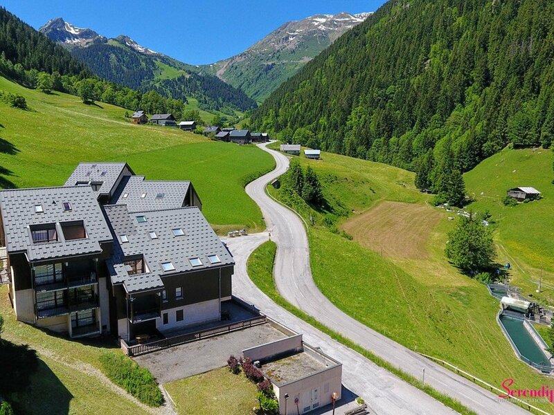 Bel appartement de 3 pièces pour 4 à 6 personnes, location de vacances à Areches Beaufort