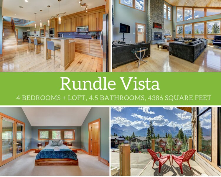 Rundle Vista, holiday rental in Seebe