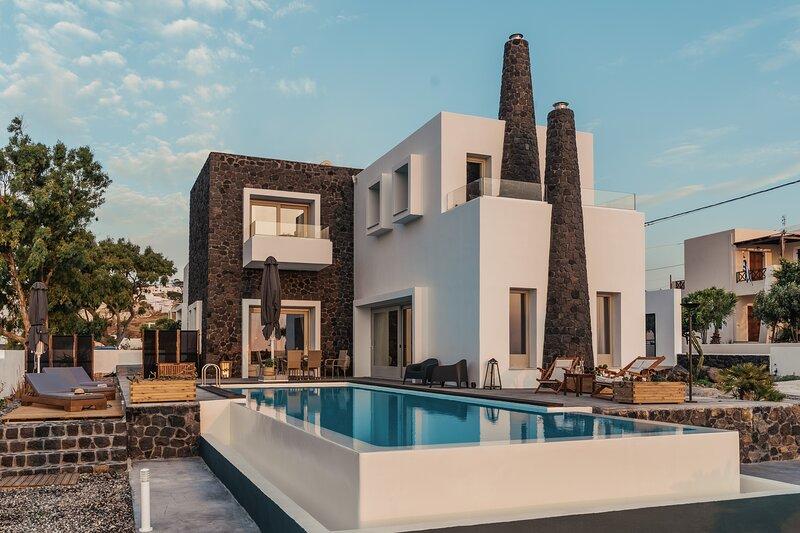 Kaminos Private Villa, location de vacances à Vothonas