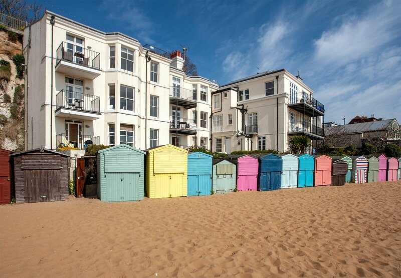Beautiful, relaxing beach apartment - Broadstairs, alquiler vacacional en Broadstairs
