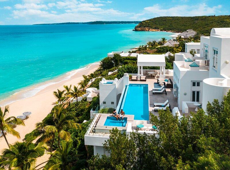 Sea Villa at Long Bay Villas on Long Bay Beach. Ultra-Luxury Staffed Villa, holiday rental in Anguilla