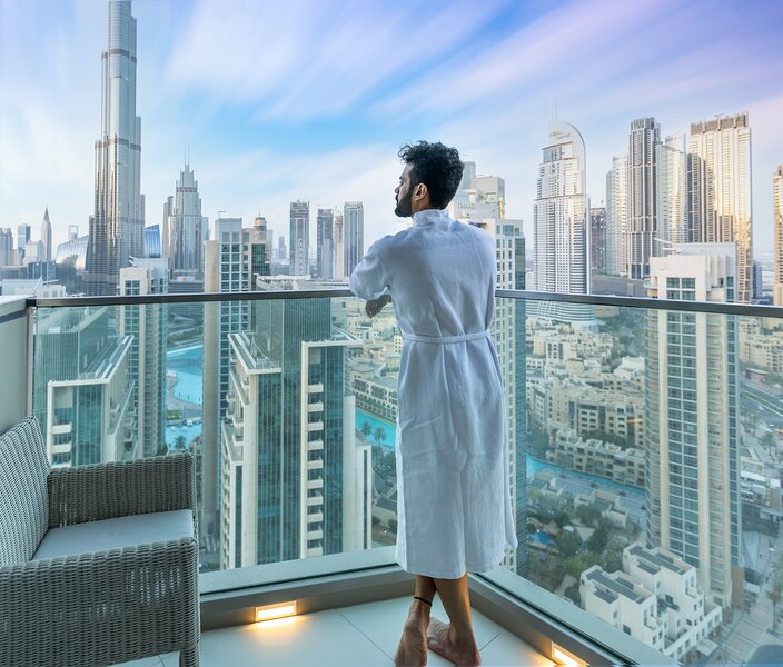 XANADUBAI Downtown Apartment with Burj Khalifa view, 3 en-suite Bedroom, aluguéis de temporada em Dubai