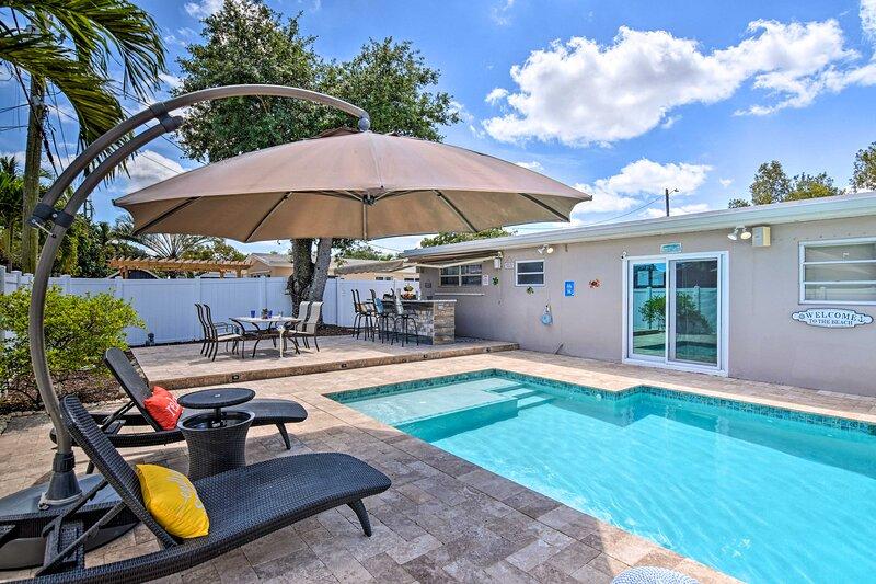 NEW! Hollywood Haven w/ Pool: Near Casinos & Coast, vacation rental in Miramar