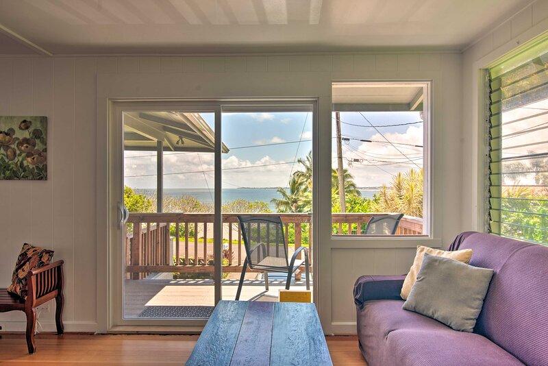 NEW! Hilo Apt: Ocean Views on the Hamakua Coast!, holiday rental in Honomu