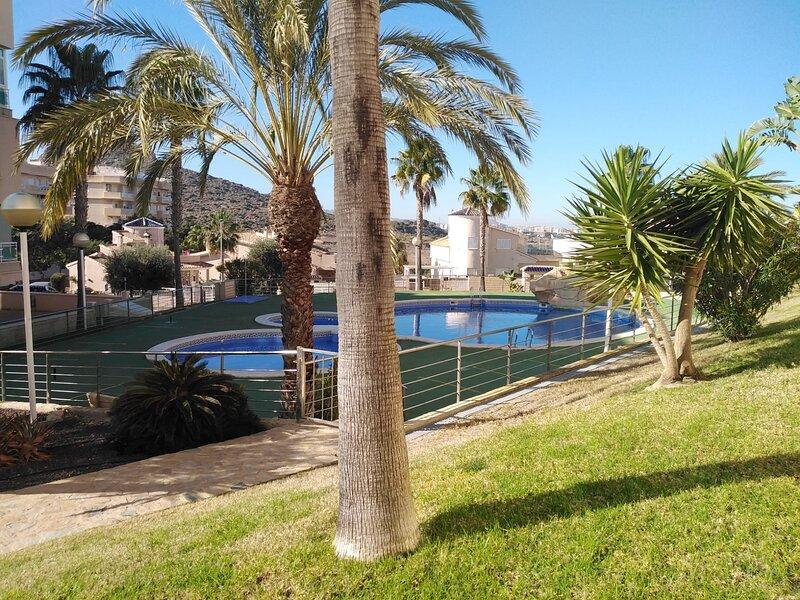 Apartamento en Cabo de Palos cerca de los 2 mares y el parque natural calblanque, alquiler de vacaciones en Cabo de Palos