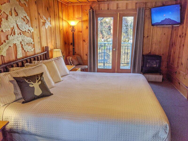 Riverside Mountain Lodge - Suite 5 - King Kitchenette, holiday rental in Washington